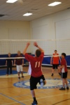 The Gym can also be used for other sports, including volleyball