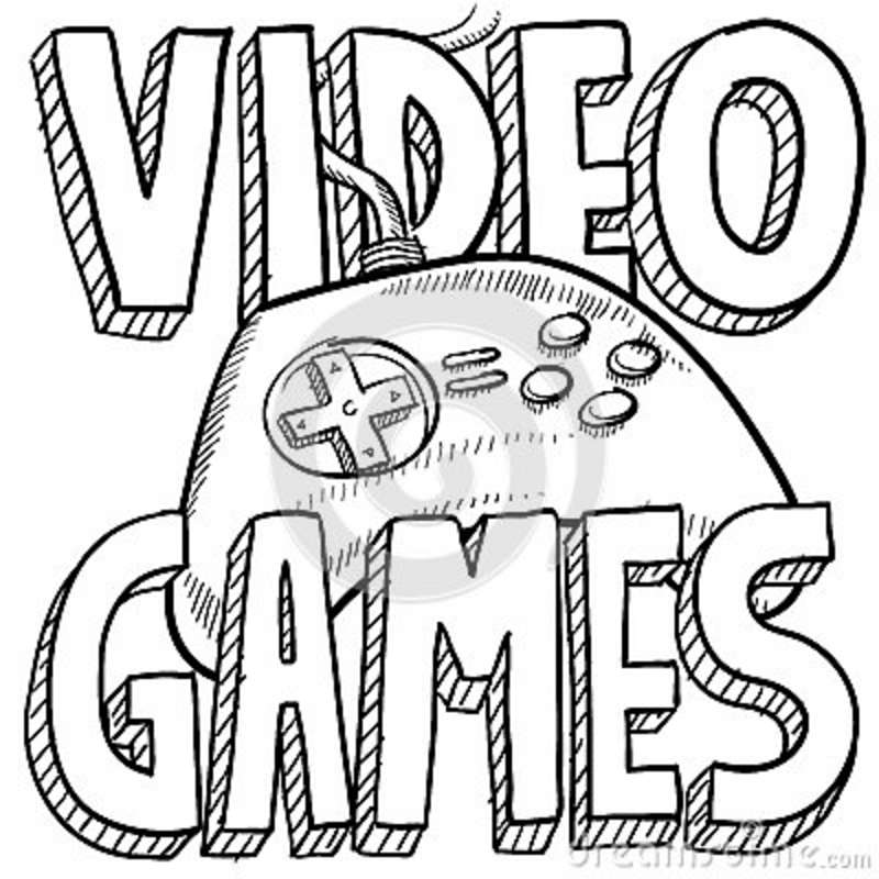 Free Coloring Pages Of Xbox
