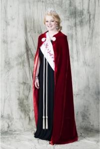 Miss Victoria M., the current Miss Job's Daugher of Pennsylvania